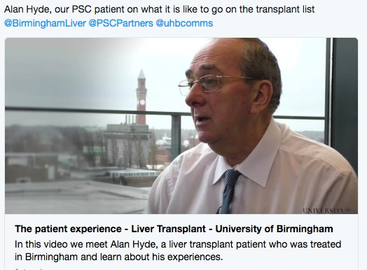 Alan Hyde patient experience