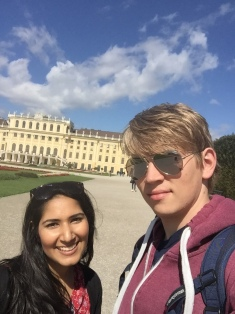 Sudha and Ben at ECI in Vienna