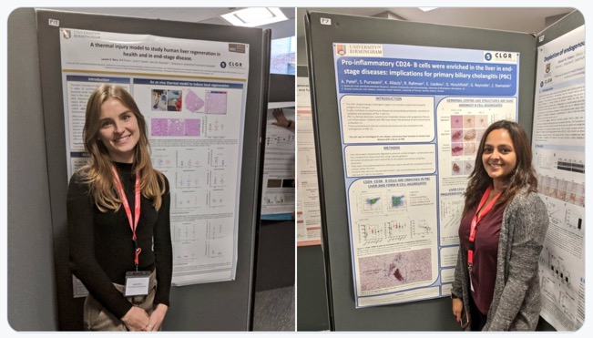 Lauren and Arzoo posters MOIS2019